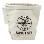 Klein Tools Bull-Pin and Bolt Bag w/Drain, Canvas, 1/EA, #5416TSR