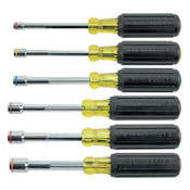 Klein Tools 6-Piece Heavy-Duty Nut Driver Set, Magnetic, Inch, 1/ST, #6356