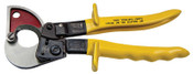 Klein Tools Compact ACSR Ratcheting Cable Cutters, 13 1/2 in, Shear, 1/EA, #63607