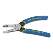 Klein Tools Heavy-Duty Wire Strippers, 8 in, 10-18 AWG Solid, 12-20 AWG Stranded Wire, 1/EA, #K12055
