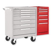 Kennedy Hang-On Cabinets, 13 5/8 in x 20 in x 29 in, 5 Drawers, Smooth Red, w/Slides, 1/EA, #205XR