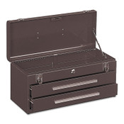 Kennedy Portable Tool Chests, 20 1/8 in x 8 5/8 in x 9 3/4 in, 1293 cu in, Brown, 1/EA, #220B