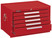 Kennedy Snap-In Mechanics' Chests, 27 in x 18 in x 16 5/8 in, Smooth Red, 1/EA, #285XR