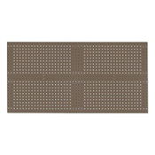Kennedy VTC Series Toolboard Set with 60-pc Toolholder Set, 4-Panel, Brown Wrinkle, 1/EA, #50004B