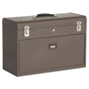 Kennedy Machinists' Chests, 20 1/8 in x 8 1/2 in x 13 5/8 in, 1800 cu in, Brown Wrinkle, 1/EA, #620B