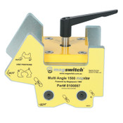 Magswitch MagVise Multi-Angle Clamp, 21 lb, 6 2/5 in x 7 1/10 in x 6 3/10 in, 1/EA, #8100897