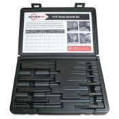 Mayhew™ 10 Piece Screw Extractor Sets, 1/8 in - 13/16 in, 1/EA, #37345