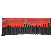 Mayhew™ 24 Piece Punch & Chisel Kits, Pointed; Round, English, Pouch, 1/KT, #61050