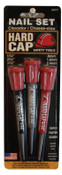 Mayhew™ 3 Pc. Hard Cap Nail Sets, English, Pouch, 8 3/4 in, 1/ST, #66475