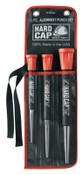 "Mayhew™ 3 Pc. Hard Cap Alignment Punch Sets, English, 1/4 x 10"", 3/16 x 9"", 5/16 x 11"", 1/ST, #66907"