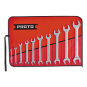 Stanley Products 10 Pc. Open End Wrench Set, 1/SET, #J3000H