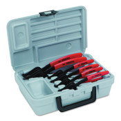 Stanley Products Convertible Retaining Ring Pliers Sets, 90°; Straight Tip, 1/ST, #J360A