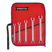 Stanley Products TorquePlus Metric Double End Flare Nut Wrench Sets, 5 Pc., 6 Point, 1/SET, #J3700M