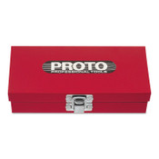 Stanley Products Puller Set Tool Boxes, 11 9/16 in W x 11 1/8 in D x 1 5/8 in H, Steel, Red, 1/EA, #J4019