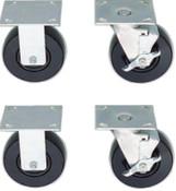 Stanley Products CASTER SET OF 4 REG PROT, 1/SET, #J44701