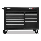 Stanley Products 550S Series, Workstation, 57 in, 13-Drawer, Dual Black, 1/EA, #55574313DB