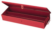Stanley Products Extra Heavy-Duty Set Boxes, 9 1/16 in D, Steel, Red, 1/EA, #J5696