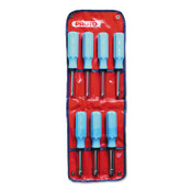 Stanley Products Metric Nut Driver Sets, 5 mm; 5.5 mm; 6 mm; 7 mm; 8 mm; 9 mm; 10 mm, 1/SET, #J9230M