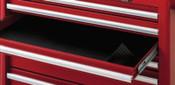 Stanley Products Polyethylene Foam Drawer Liner Rolls, 60 in x 24 in, Black, 1/ROL, #J9910