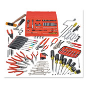Stanley Products 131 Piece Small Tool Sets with Tool Box J9993, 1/ST, #J99101