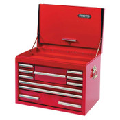 Stanley Products 157 Piece Metric Intermediate Set with Top Chest, Steel, Red, 1/SET, #J99431