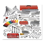Stanley Products 194 Pc Master Socket & Wrench Sets, w/Top Chest J442719-10RD-D, 1/ST, #J99531