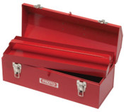 Stanley Products Hip Roof Tool Boxes, 7 in D, Steel, Red, 1/EA, #J9971NA
