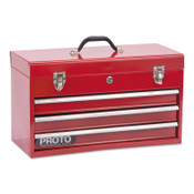Stanley Products 21 in General Purpose Tool Box, 3-Drawers, 1/EA, #J9993