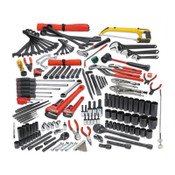 Stanley Products 172 Pc Railroad Roadway Mechanic's Sets, 1/ST, #JTS0172RR