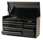 Stanley Products 7 Drawer Top Chests, 41 in x 18 in x 23 in, Black, 1/EA, #94107C