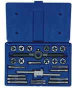 Stanley Products 24-pc Fractional Tap & Round Die Set, 1/SET, #23622