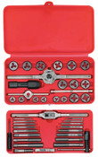 Stanley Products 41-pc Machine Screw/Fractional Tap and Hex Die Set, 1/ST, #24606