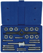 Stanley Products 24-pc Fractional Tap & Hex Die Set, 1/SET, #24614