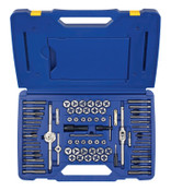 Stanley Products 76-pc Machine Screw / Fractional / Metric Tap & Hex Die Set, 1/ST, #26376