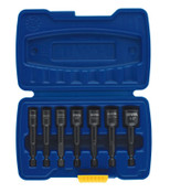 Stanley Products 7-pc POWER-GRIP Sets, 1/4 in Drive, Carbon Steel, 1/ST, #394100