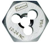 Stanley Products DIE 12-24 5/8 HEX HANSON, 3/PKG, #6132