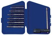 Stanley Products 13pc Tap (HCS) & Drill Bit Sets (HSS), 5/SET, #80185
