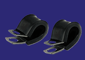 """1"""" Fully Cushioned Metal Clamp (10/Pkg.)"""