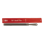 "Dual Files With Handle - 10"", Mercer Abrasives BDUA10 (12/Pkg.)"