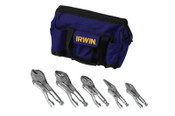 Stanley Products The Original™ Locking Pliers Set, 5 Pc., Kit Bag, 1/ST, #2077704