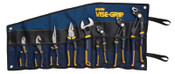 Stanley Products 8-pc GrooveLock Pliers Sets, Groovelock;Linesman;Long Nose;Diagonal;SlipJoint, 1/EA, #2078712