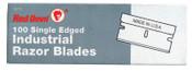 Red Devil SINGLE EDGE RAZOR BLADES; Single Edge Razor Blades, 100/BX, #3272