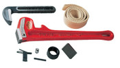 Ridge Tool Company Pipe Wrench Replacement Parts, Heel Jaw & Pin Assembly, Size 18, 1/EA, #31675