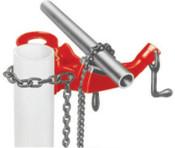 Ridge Tool Company Top Screw Post Chain Vises, 1/8 in - 5 in Pipe Cap, 1/EA, #40170
