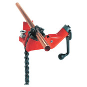 Ridge Tool Company Top Screw Bench Chain Vise, BC410A, 1/8 in - 4 in Pipe Cap, 1/EA, #40195