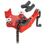 Ridge Tool Company Top Screw Bench Chain Vise, BC410PA, 1/2 in - 4-1/2 in Pipe Cap, 1/EA, #40200