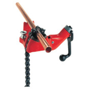Ridge Tool Company Top Screw Bench Chain Vise, BC810A, 1/2 in - 8 in Pipe Cap, 1/EA, #40215