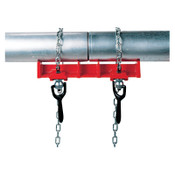 Ridge Tool Company Straight Pipe Welding Vises, 1/2 in - 8 in Capacity, 1/EA, #40220