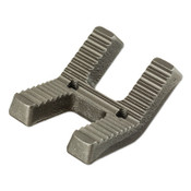 Ridge Tool Company 450 Tristand Chain Vise Jaws, Jaw, 1/8 in - 5 in, 1/EA, #41020