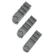 "Ridge Tool Company ChuckJaw Set Replacement f/535 Threading Machine, Alloy Steel,1/8""-2""Cutting Cap, 1/SET, #44090"